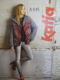 Katia Pattern Leaflet: Ladies Hooded Jacket