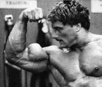Bodybuilder Joe Bucci - Huge Freaky Arms