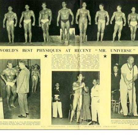 1948 Mr Universe Bodybuilding Contest