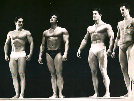 1950 Mr Universe - Reg Park Vs Steve Reeves