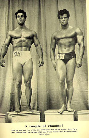 1950 Mr Universe Contest - Park Vs Reeves