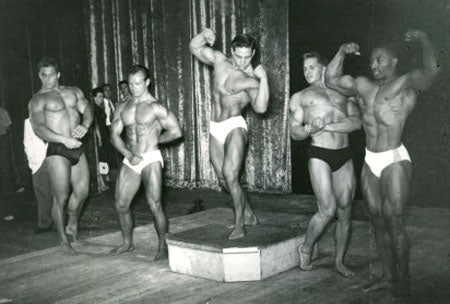 1953 Mr America Contest - Bill Pearl