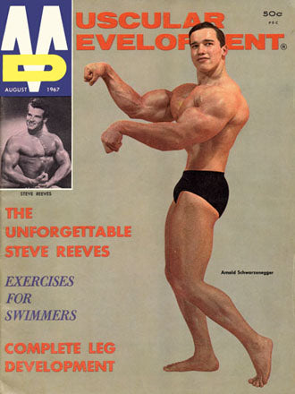 1960s Muscle Mag - Young Arnold