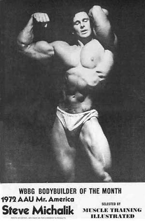 1972 AAU Mr America - Steve Michalik