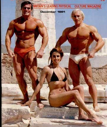 1981 - Bodybuilders Bill Hemsworth and Terry Philips