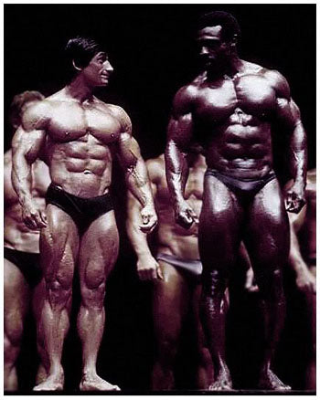 1981 Mr Olympia - Danny Padilla and Roy Callender