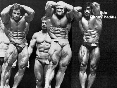 1981 Mr Olympia - Franco Columbu Vs Tom Platz and Danny Padilla