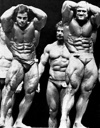 1981 Mr Olympia - Franco Columbu Vs Tom Platz