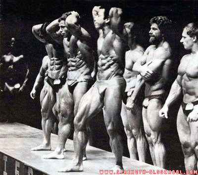 1981 Mr Olympia - Franco Columbu and Chris Dickerson