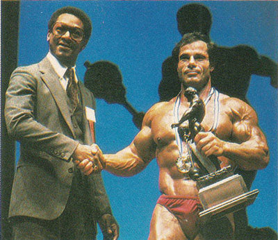 1981 Mr Olympia - Franco Columbu