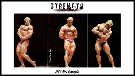 The Real Story of Tom Platz at the 1981 Mr Olympia – Strength Oldschool