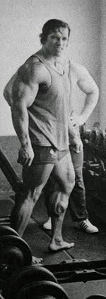 The Massive Calves of Arnold Schwarzenegger