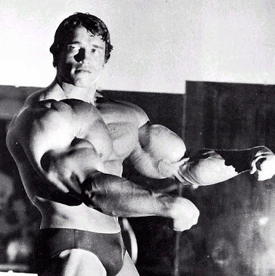 Arnold Schwarzenegger Looking Massively Thick
