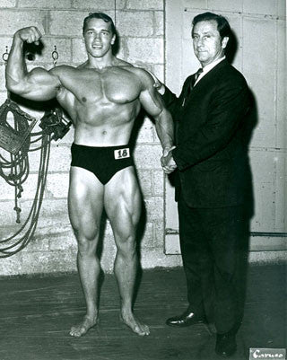 Arnold and Joe Weider Join Forces