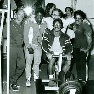 Art Zeller - Bertil Fox - Joe Weider - Ray and Mike Mentzer