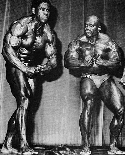 Bertil Fox Vs Sergio Oliva