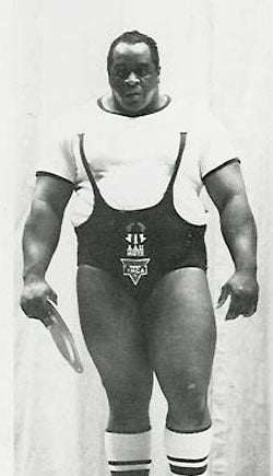 Big Jim Williams - Powerlifter