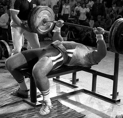 Bill Kazmaier - Bench Press King
