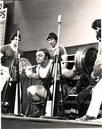 Bill Kazmaier Squatting