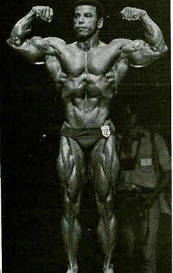 Bodybuilder Chris Dickerson