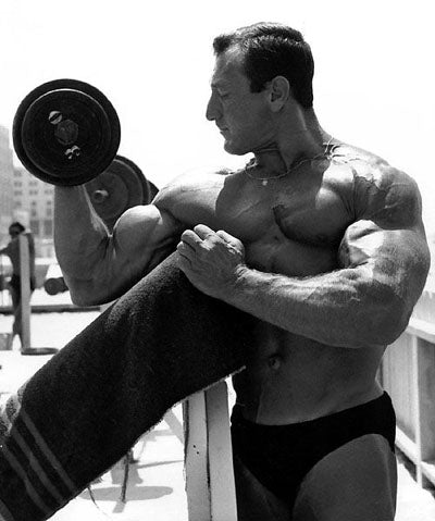 Bodybuilder Johnny Isaacs
