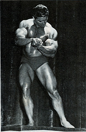 Bodybuilder Larry Scott in his Prime