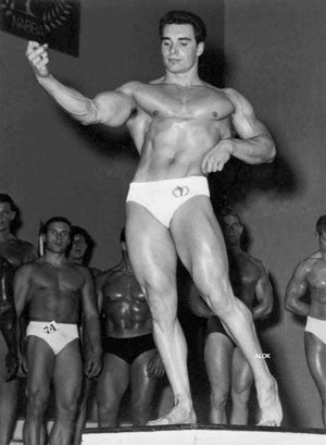 Bodybuilder Paul Nash