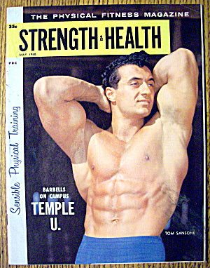 Bodybuilder Tom Sansone