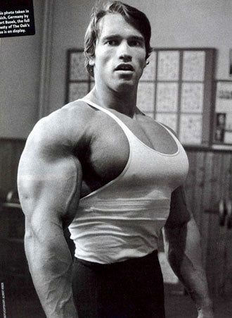 how arnold schwarzenegger really trained strength oldschool
