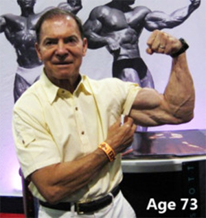 Bodybuilding Legend Larry Scott at 73 Years Old