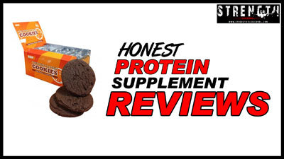 Bodybuilding Warehouse - Rich Chocolate Premium Protein Cookies Review