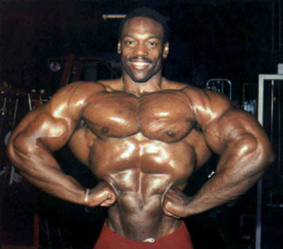 Bodybuilder Brian Buchanan