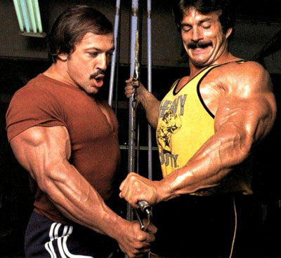 Casey Viator and Mike Mentzer