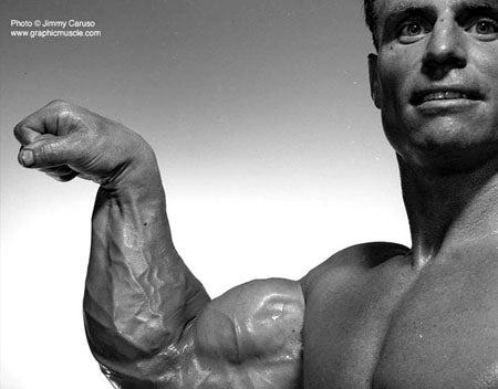 Chuck Sipes Forearms