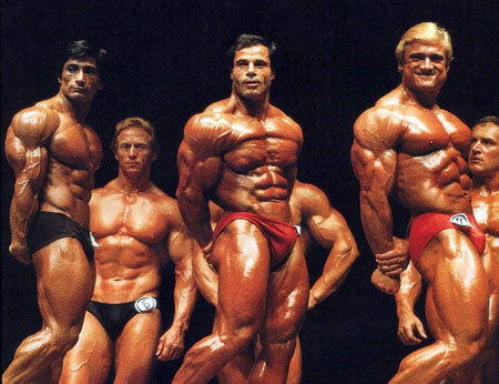 Danny Padilla - Franco Columbu and Tom Platz