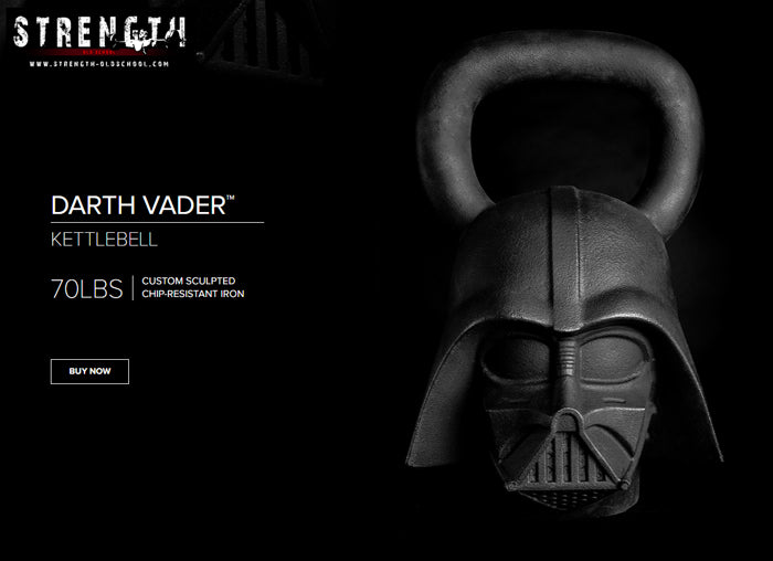 Darth Vader Kettlebell by Onnit