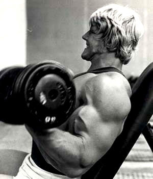 Dave Draper Training Arms