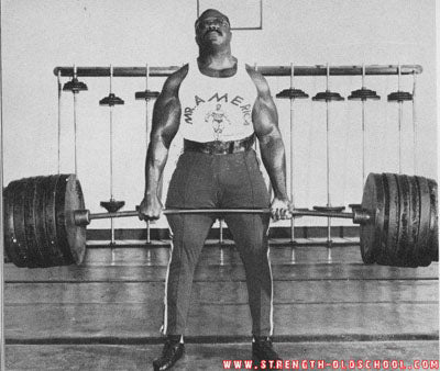 Dave Shaw Deadlifting