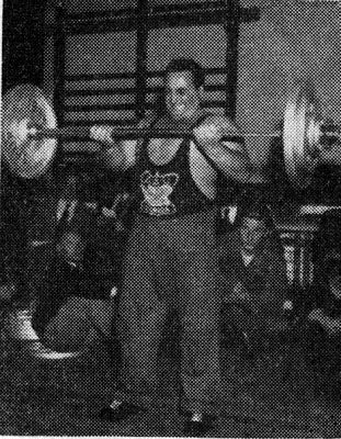 Doug Hepburn - Strict Barbell Curls