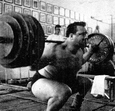 Doug Hepburn Squat