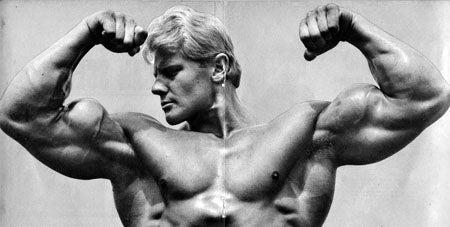 Dave Draper Front Double Biceps Pose