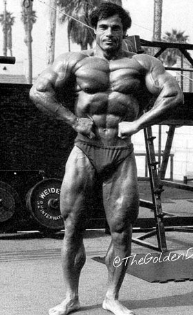 Franco Columbu - 1981 Mr Olympia