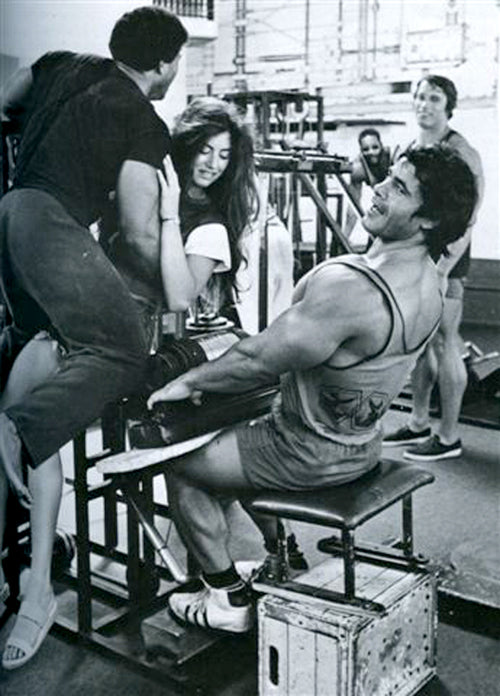 Arnold and Franco in the Gym - Confident Franco knows hes the Strongest - RIP Franco Columbu