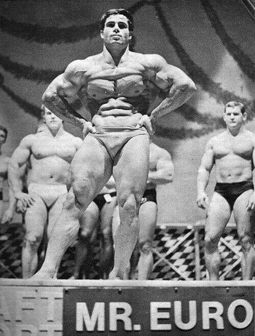 A Muscular Franco Columbu - RIP