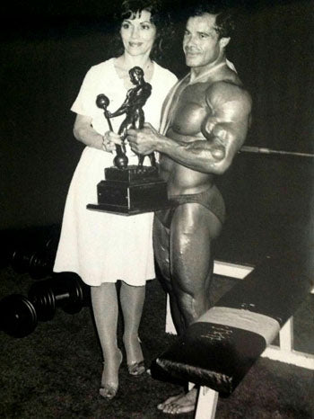 Franco Columbu and Wife Anita - 1981 Mr Olympia