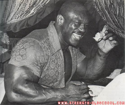 A Happy Sergio Oliva