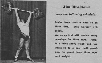 Jim Bradford Training