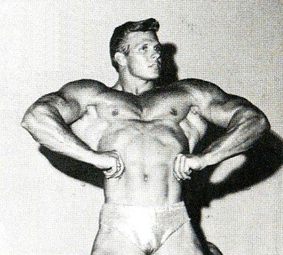 Jim Haislop Front Lat Spread