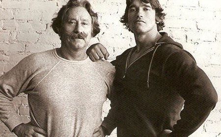 Joe Weider and Arnold Schwarzenegger