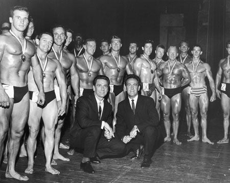 Joe and Ben Weider